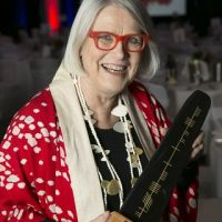 18/11/14 CORK CHAMBER-DARINA ALLENBusinesswoman Darina Allen, owner of Ballymaloe Cookery School, received an Outstanding Achievement award from Cork Chamber of Commerce at their Dublin Dinner.Photo; Johnny Bambury-no reproduction fee.