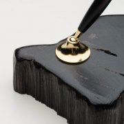 Bog Oak Pen Stand