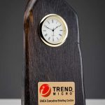 Bog Oak Clock
