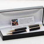 Bog Oak Pen and Pencil Set