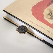 Bog Oak Bookmark