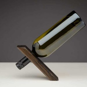 Bog Oak Wine Holder
