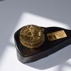 Celtic Bog Oak Brass Compass & Sundial